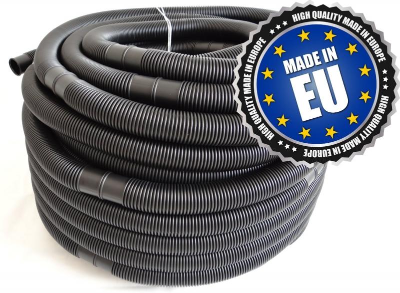 plastic zwarte slang