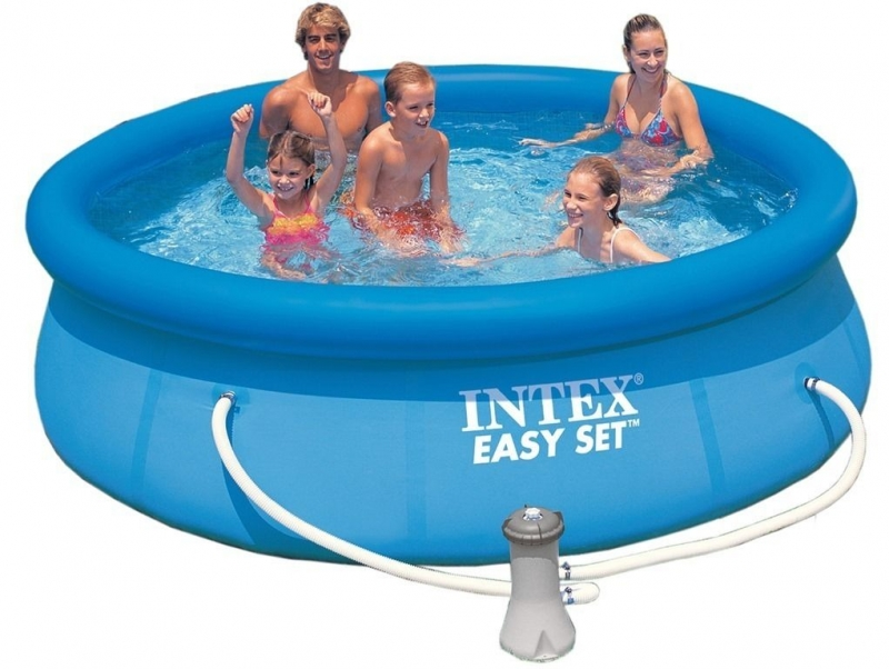 Waterfunshop intex zwembaden intex 305cm easy set met for Intex webshop